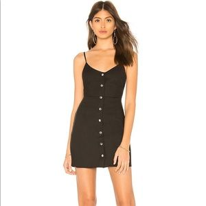 by the way. Kacee Snap Front Dress Black NWOT